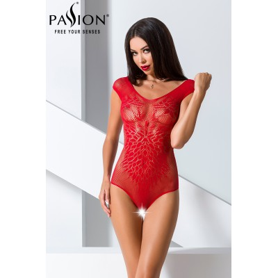 Body ouvert BS064 - Rouge